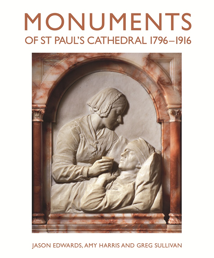 Monuments of St Paul's Cathedral 1796-1916 - cover image